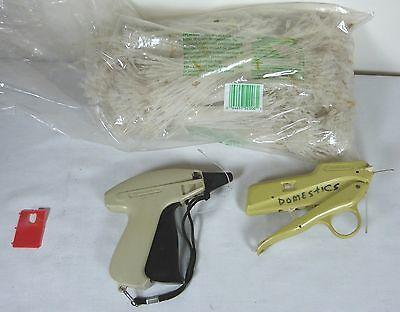Lot Of Monarch 3030 Dennison Taggers Big Bag Of Propylene Lock Tags