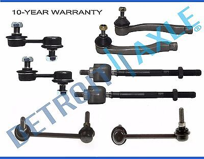 All 4 Front  Rear Sway Bar Links  All 4 Tie Rod Ends for 1997   2001 CR V