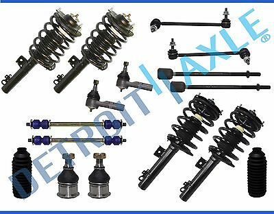 Ford Taurus Rear Struts - Ford Taurus Sedan Sable 16pc Front & Rear Complete Struts & Suspension Kit