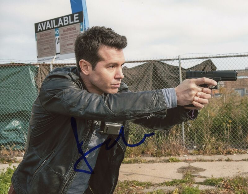 "Jon Seda ""Chicago P.D."" AUTOGRAPH Signed 8x10 Photo"