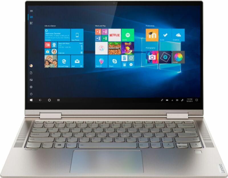 "Lenovo - Yoga C740 2-in-1 14"" Touch-Screen Laptop - Intel Core i5 - 8GB Memor..."