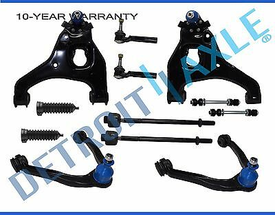 99-07 GMC Sierra 1500 2WD 12pc Upper Lower Control Arm Ball Joint Tierod Kit