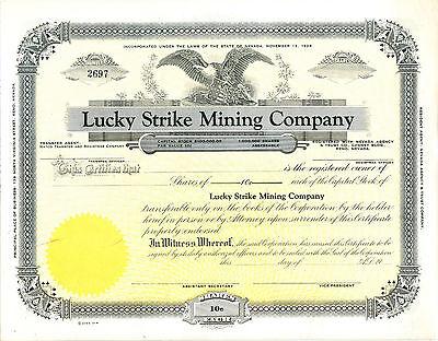 Lucky Strike Mining Compay USA