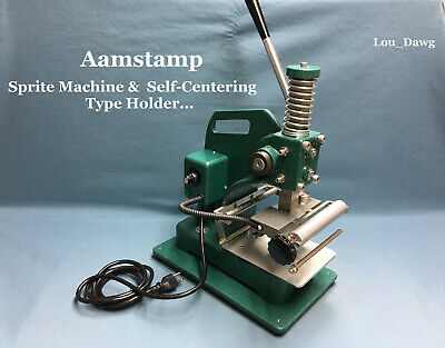 Aamstamp Machine Sprite Machine Self-centering Holder Hot Foil Stamping