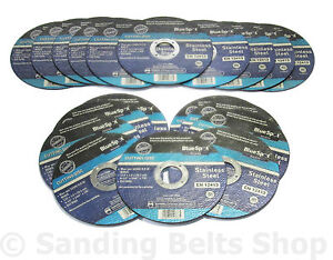 20 x ANGLE GRINDER THIN METAL CUTTING DISCS 115MM   BS 1mm x 22.2mm Bore
