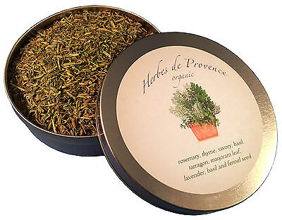Herbes De Provence (Herbes de Provence tin organic French premium cooking spice fine herb w)
