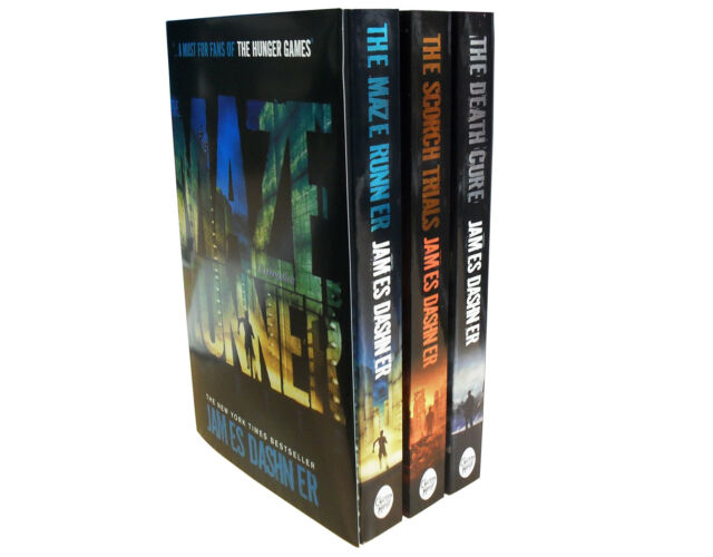 The Maze Runner Collection 3 books Set James Dashner | For Hunger games fans AUS