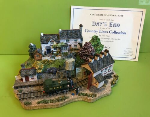 Danbury Mint Country Lines Collection train - Day