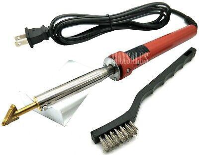 80 Watt Iron Plastic Welding Kit Tpo Teo Pp Rod Mesh Auto Welder Repair Kit