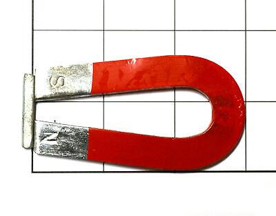 Eisco Labs Horseshoe U Magnet Chrome Steel 3 X 1 916