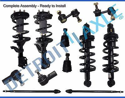 Rear Tie Bar - 2002-2006 Honda CR-V Front & Rear Strut Inner Outer Tie Rod Ball Joint Sway Bar