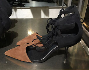 ZARA MID-HEEL LACE-UP SHOES 36-41 Ref. 1208/101