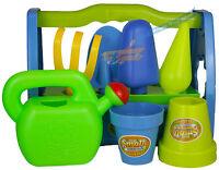 Infantil Jardín Set De Juego Juguete Regadera Pala Rastrillo Jardinería Tools -  - ebay.es