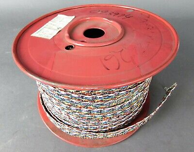 Spool Of 26awg 40 Con Braided Wire 19 Pounds Pn 3056348-2026 Spec Mil W-16878