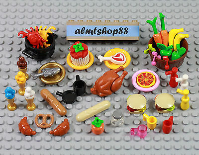 ☀️NEW Lego Minifig Hair Male boy Dark Orange Standard Smooth Cap Wig Business
