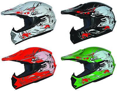 Kids Pro Kinderhelm Crosshelm Motorradhelm Kinder Cross Enduro Quad Helm