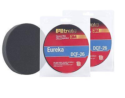 Eureka DCF-26 Allergen Vacuum Filter by 3M Filtrete 2-Pack