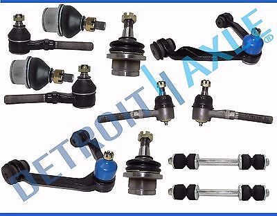 12pc F-150 Expedition Navigator 4WD Front Upper Control Arm Ball Joint Kit