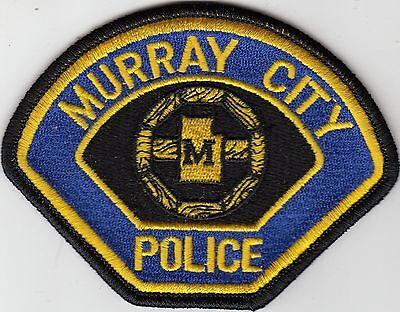 MURRAY CITY UTAH UT POLICE PATCH