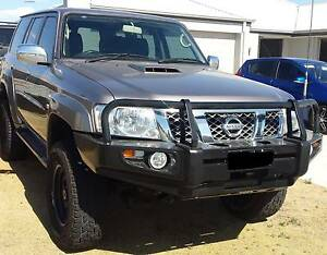 Nissan Patrol GU 1-3 bullbar winch compatible Premium bull bar Wattle Grove Kalamunda Area Preview