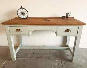 Country Farmhouse Desk Shabby Chic Hall Table North Lakes Pine Rivers Area Preview