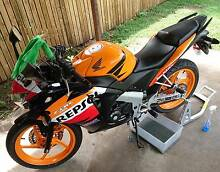 2012 HONDA CBR125R REPSOL Townsville City Preview
