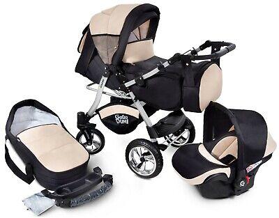 Urbano Pram Pushchair Stroller 3in1 Travel system car seat lotof extras included