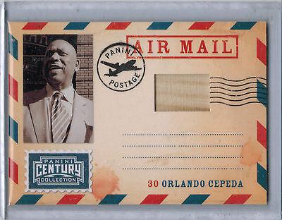 2010 Panini Century Air Mail Bats ORLANDO CEPEDA Game Bat #205/250 (5484) 2010 Baseball Bats