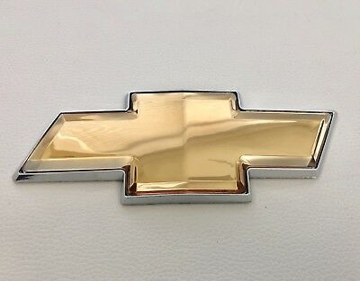 2006-2016 Chevy Impala & Monte Carlo Front or Rear Grille Bowtie Emblem Gold OEM Chevrolet Monte Carlo Chevy