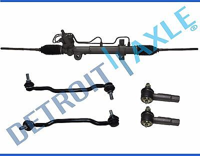 Nissan Maxima Rack - 5pc Rack And Pinion Outer Tie Rod Sway Bar Link Kit For Nissan Maxima Altima