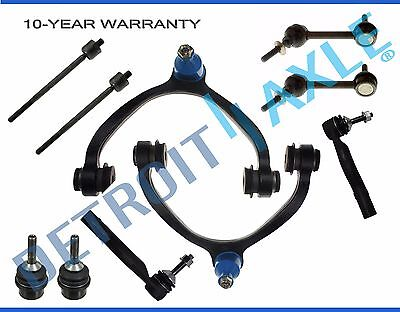2003-2011 Mercury Grand Marquis Marauder Front Control Arm Ball Joint TieRod Kit