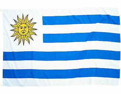 Fahne Uruguay Querformat 90 x 150 cm Hiss Flagge Nationalflagge WM 2018