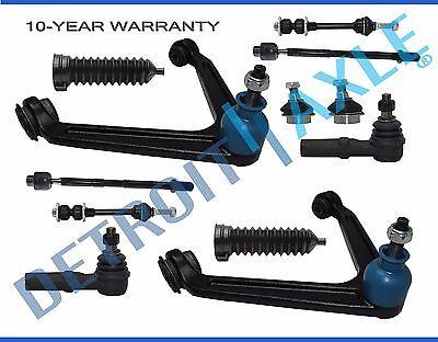 12pc Front Upper Control Arm Tie Rod Kit 2002 2003 2004 2005 Dodge Ram 1500 -2WD