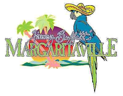 """Margaritaville Jimmy Buffetts Sombrero Vinyl Sticker Decal 18"""" (full color)"""