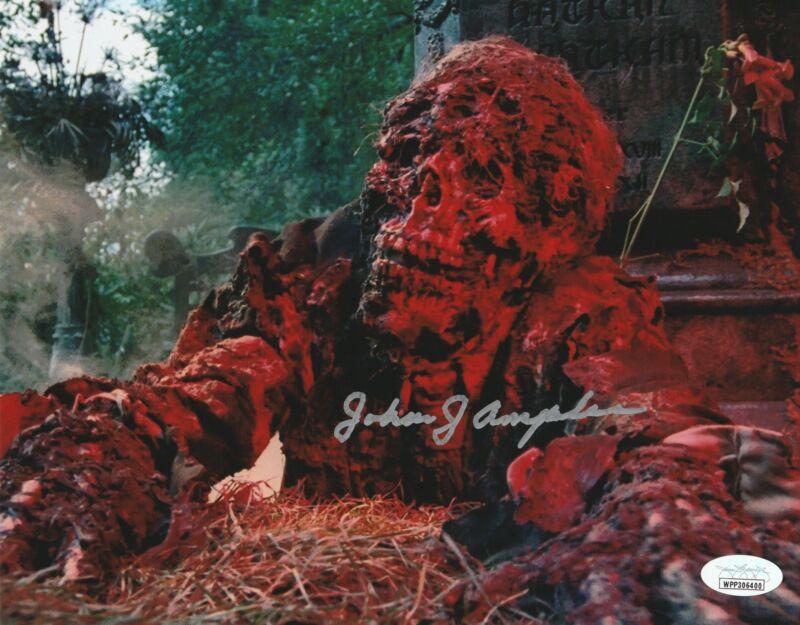 John Amplas Autograph 8X10 Photo Creepshow Nathan's Corpse Signed Picture JSA