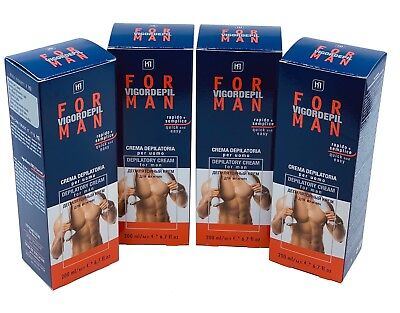 MENS HAIR REMOVAL DEPILATORY CREAM PRODUCTS BEST FOR BODY CHEST BACK LEGS
