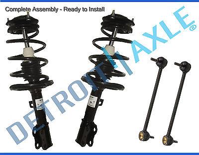 07-17 Jeep Compass Patriot Dodge Caliber Front Strut & Spring Sway Bar Link Kit