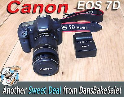 Цифровой фотоаппарат Canon EOS 7D Camera