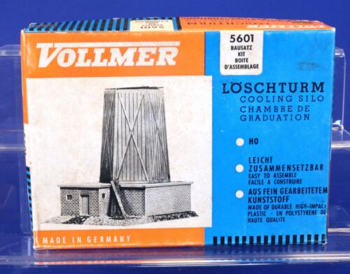 Vollmer HO Scale Cooling Silo Building Kit 5601
