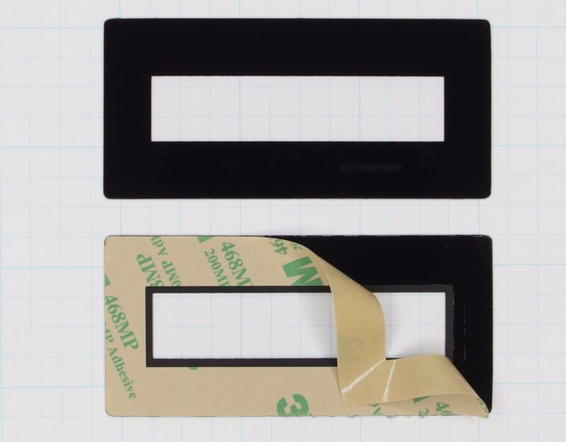 Faceplate Mounting Bezel for 2x16 LCD Displays (pkg of 10 Seetron FPL216)