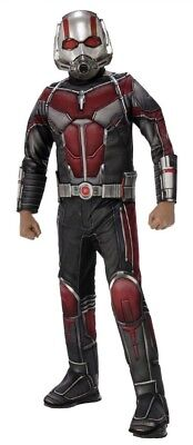 Kids Ant Costume (Ant Man Costume Child S L Youth Boys Avengers Muscle Padded Chest Antman &)
