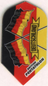 Slim-German-Flags-Dart-Flights-3-per-set