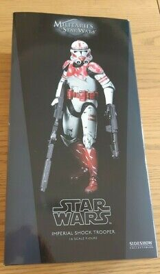 Sideshow Star Wars Imperial Shock trooper 1/6th Scale Figure - NEW - UK