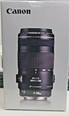 Canon EF 70-300mm f/4-5.6 AF IS USM Lens Altura Photo Kit 9 Bonus Items