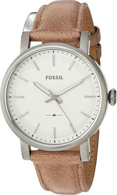 Fossil Original ES4179 Womens Boyfriend Sport Three Hand Sand Leather Watch 38mm