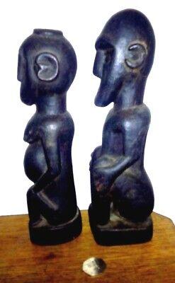 Vintage Batak Fertility Figure Set