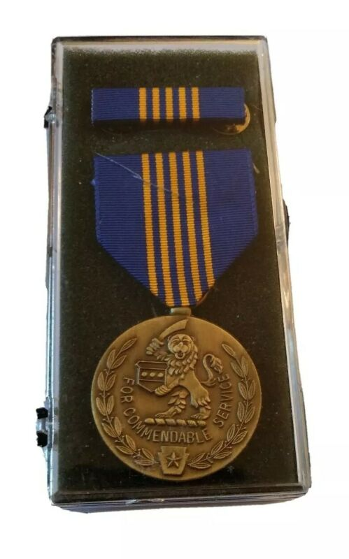PA Pennsylvania National Guard Ben Franklin Medal Award Commendable Service