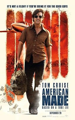American Made   Original Ds Movie Poster 27X40 D S Tom Cruise