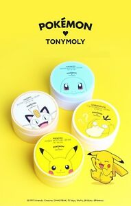 Tonymoly-Pokemon-KKOBUGI-Moisture-NAONG-Nutrition-Pikachu-Honey-Gorapaduck-cream