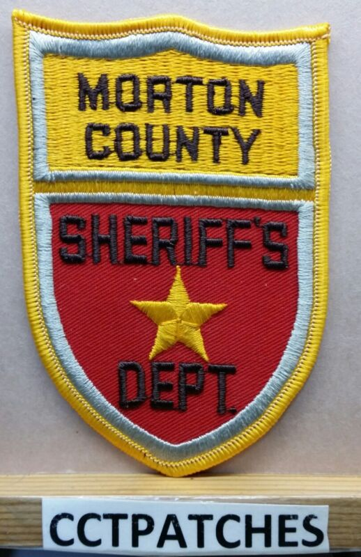 MORTON COUNTY, NORTH DAKOTA SHERIFF (POLICE) SHOULDER PATCH ND